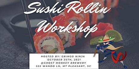 Sushi Rollin' Workshop tickets