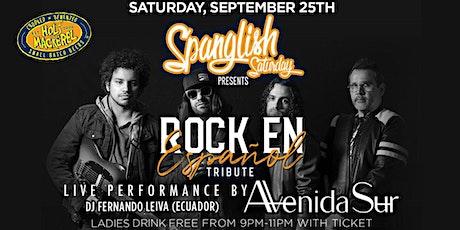 Spanglish Saturdays Nights - Latin Rick tribute by Avenida Sur and Dj Ferna tickets