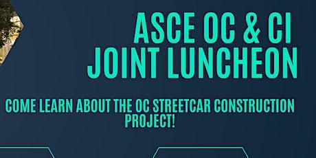 October CI/Branch Luncheon: OC Streetcar Construction tickets