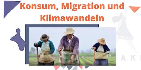 Konsum, Migration und Klimawandeln tickets