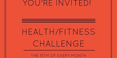 Mid Month Fitness/Health Group Challenge tickets