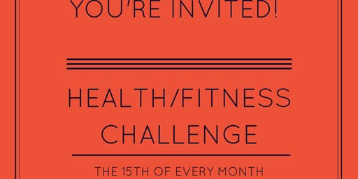 Mid Month Fitness/Health Group Challenge