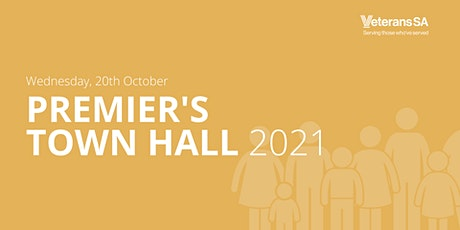 Premier's Town Hall  Meeting 2021 tickets