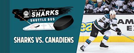 SAP Center Shuttle Bus: Sharks vs. Canadiens (San Francisco Pickup) tickets