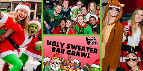 Official Ugly Sweater Bar Crawl | Boston, MA - Bar Crawl LIVE! tickets