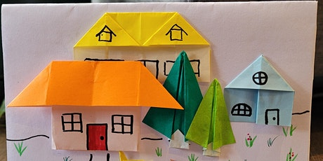 Origami Houses and Tree (TEENS/ADULTS Paper Folding Craft Workshop) tickets