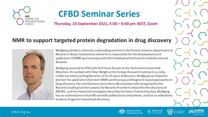 NMR to support targeted protein degradation in drug discovery image
