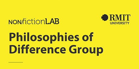 Philosophies of Difference Group tickets