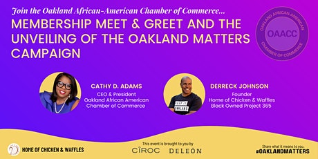 Oakland Matters Campaign Launch tickets