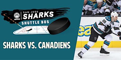 SAP Center Shuttle Bus: Sharks vs. Canadiens (Mill Valley Pickup) tickets