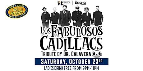 Spanglish Saturdays - Los Fabulosos Cadillacs Live Tribute show tickets