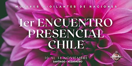 1er ENCUENTRO PRESENCIAL CHILE MUJERES VIGILANTES DE NACIONES entradas