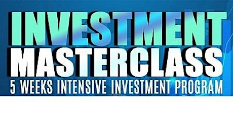 Investment Masterclass Introduction tickets