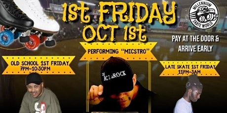 1st Friday Late Skate Featuring  RC LaRock and DJ T-Nice tickets