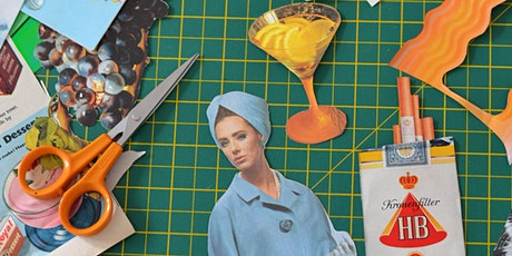 Vintage Collage Workshop in South London! tickets