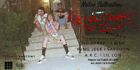 Native Cultivation's Presents: Revolutionary Rap Group with Special Guests tickets