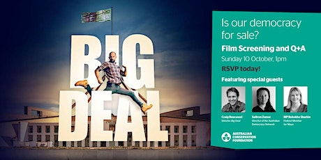 BIG DEAL Screening + Q&A - ADELAIDE tickets