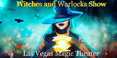 Witches and warlock Halloween Show at Las Vegas Magic Theater tickets