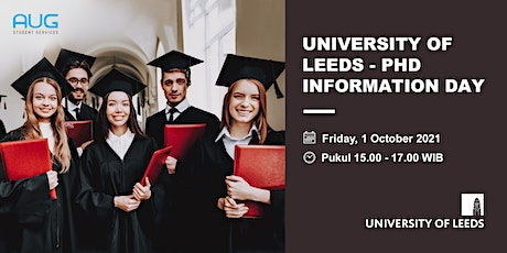 University of Leeds - PhD Information Day tickets