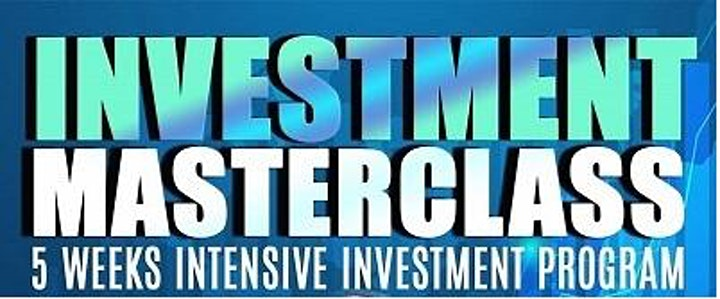 Investment Masterclass Introduction image