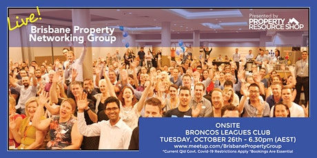 Brisbane Property Networking Group - FIRST TIME ATTENDING IT'S FREE tickets