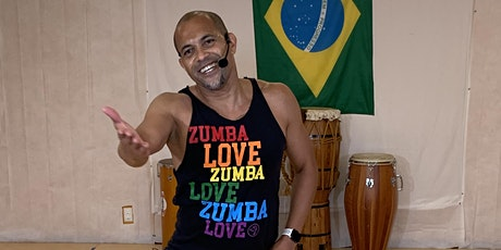 Zumba® with Daniel Santos: In-Person and Virtual tickets
