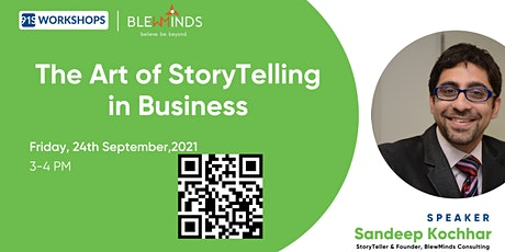 The Art Of StoryTelling in Business tickets