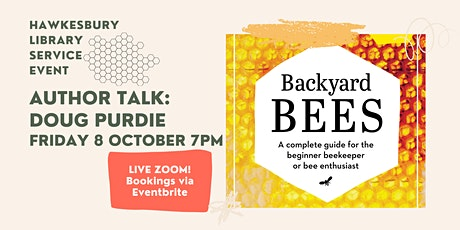 Author Talk: BACKYARD BEES with Doug Purdie tickets