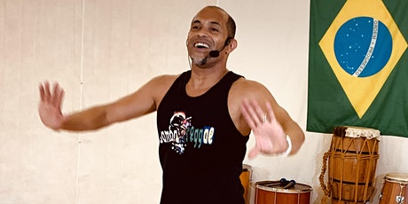 Afro-Brazilian Cardio with Bahia In Motion: In Person and Virtual tickets