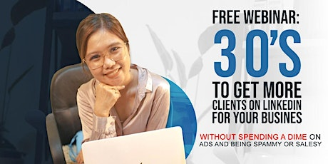 3 O's To Get More Clients On Linkedin For Your Business tickets
