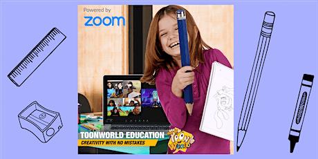 Toonworld Cartooning Workshop (ONLINE) tickets