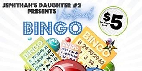 Virtual Bingo with Jephthah's Daughter #2 tickets