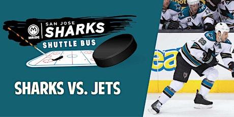SAP Center Shuttle Bus: Sharks vs. Jets (San Francisco Pickup) tickets