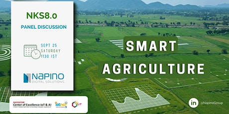 NKS 8.0 - Role Of Digitization In Agriculture tickets