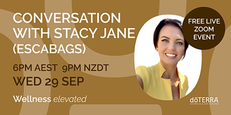 Conversation with Stacy Jane from Escabags tickets