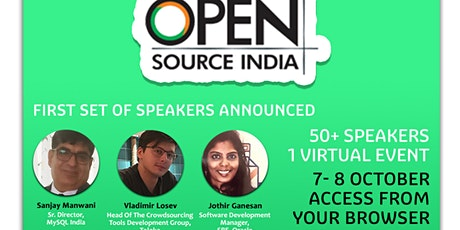Open Source India tickets