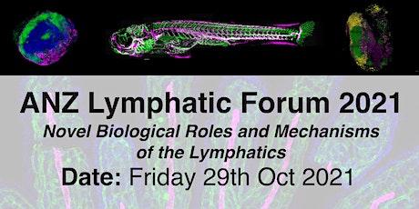 ANZ Lymphatic Forum 2021 tickets