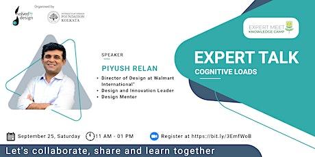 """""""EXPERT MEET with Piyush Relan, Director of Design at Walmart International tickets"""