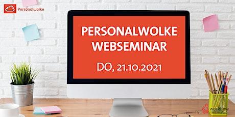 Personalwolke Webseminar 21. Oktober 2021 Tickets
