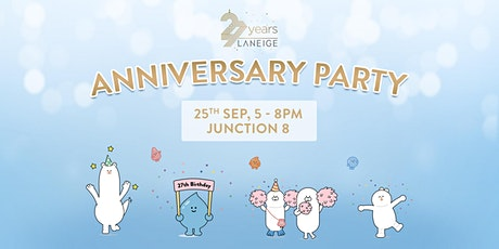 LANEIGE 27th Anniversary Party tickets