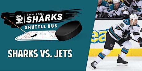 SAP Center Shuttle Bus: Sharks vs. Jets (Mill Valley Pickup) tickets