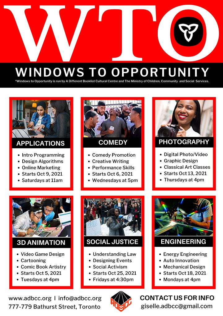 The 2021-2022 Windows-to-Opportunity Program image