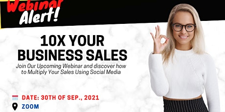 How to 10X Your Business Sales Using  Social Media tickets