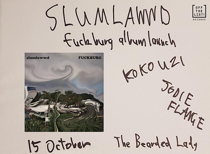 "Slumlawwd ""Fuckburg"" Album Launch image"
