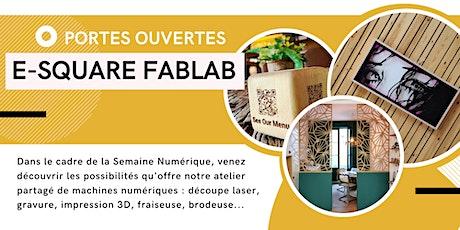 Portes ouvertes au FabLab de l'e-Square pour les enseignants tickets