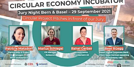 CE Incubator 2021 | Jury Night (Bern/Basel) Tickets