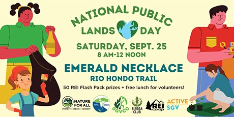 National Public Lands Day: Volunteer at Emerald Necklace Rio Hondo Trail tickets