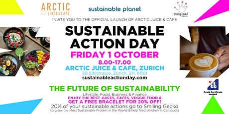 SUSTAINABLE ACTION DAY - LAUNCH! tickets