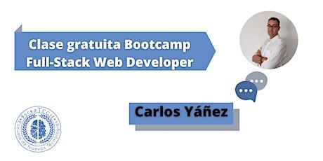 Clase Gratuita BootCamp Full-Stack Web Developer tickets
