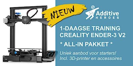 All-in training 3D-printen voor Ender-3 V2 (betaling na inschrijving) tickets